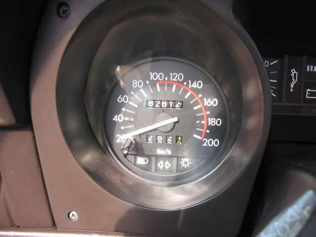 200kmまで刻まれたスピードメーターは、Sprintの名にふさわしい